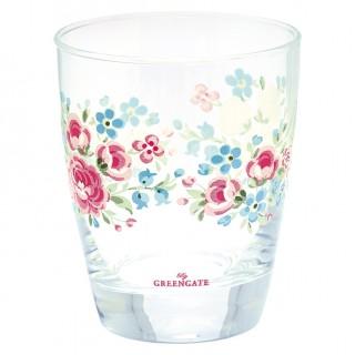 GreenGate Wasserglas Tess white