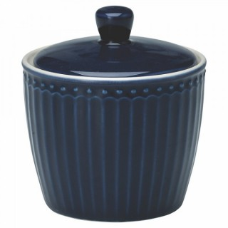 GreenGate Zuckerdose Alice dark blue