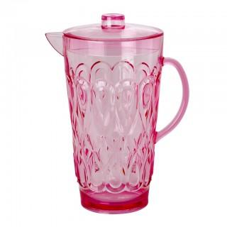 Rice Acryl Karaffe 'Swirly Pink'