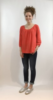 Grace T-Shirt 3/4 Arm grenadine