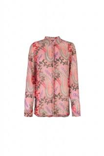 Lieblingsstück transparente Bluse mit Paisleydruck