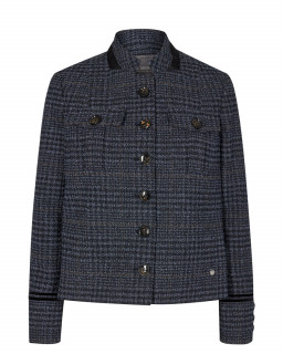 MOS MOSH - Blazer Boucle Selby navy