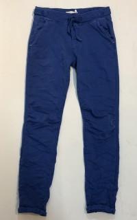 Milano Hose - Maraya - Cropped Hose im Jogger-Style - blau
