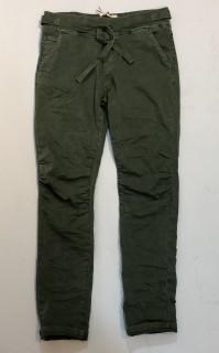Milano Hose - Maraya - Cropped Hose im Jogger-Style - military