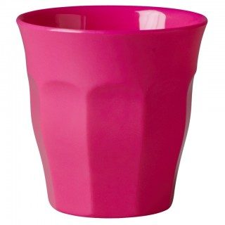 Rice Melamin Becher Medium Neon Pink