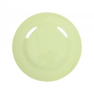 Rice Melamin Teller Medium Mint