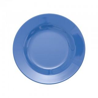 Rice Melamin Teller Medium New Dusty Blue