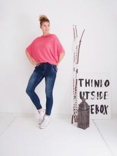 Milano Hose - Jeans Play - Hose im Jogger-Style