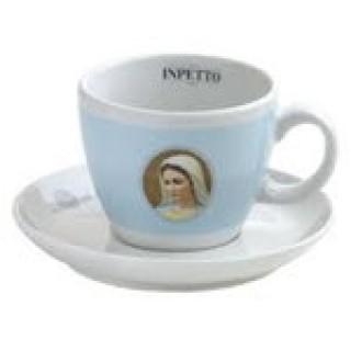 Inpetto Milchkaffeetasse mit Untertasse