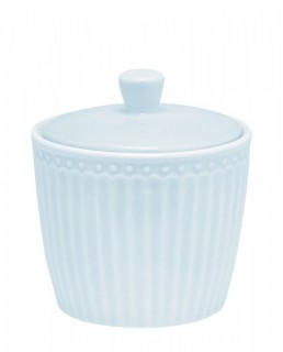 GreenGate Zuckerdose Alice pale blue