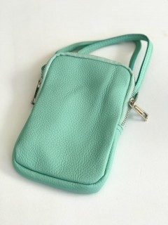 Handy Umhängetasche pale green