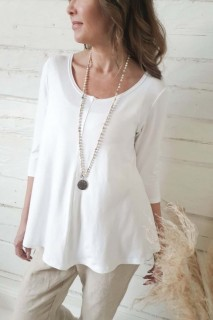 BYPIAS Shirt - Bamboo Stella white