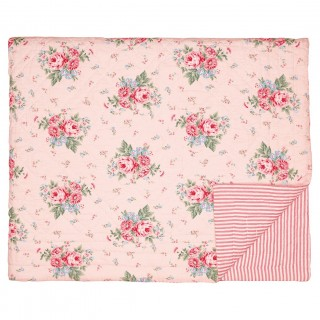 GreenGate Tagesdecke Marley pale pink 100 x 140cm