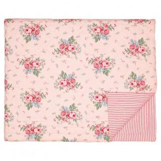 GreenGate Tagesdecke Marley pale pink 100 x 140cm
