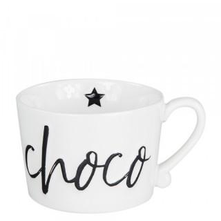 BC Henkeltasse groß 'Chocolate' schwarz