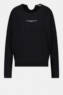 Penn&Ink Sweater print black