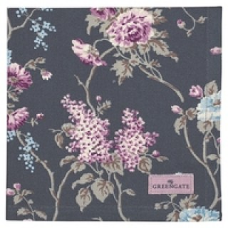 GreenGate Stoffserviette Maude dark grey