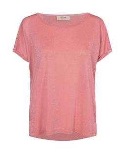 MOS MOSH - Shirt Kay Tee sugar coral mit Lurex