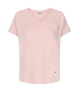 MOS MOSH - Shirt Maya V-neck chintz rose
