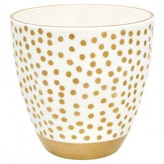 GreenGate Becher Dot gold