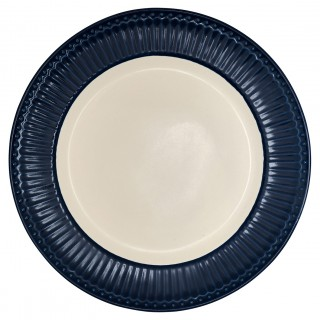 GreenGate Dinnerteller Alice dark blue