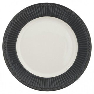 GreenGate Dinnerteller Alice dark grey