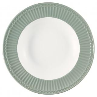 GreenGate Frühstücksteller Alice dusty mint