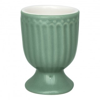 GreenGate Eierbecher Alice dusty green