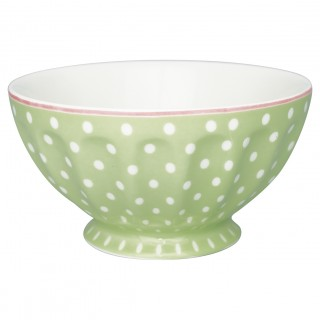 GreenGate French Bowl Spot pale green xlarge
