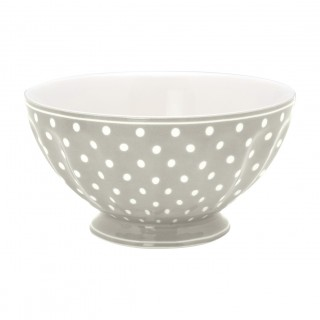 GreenGate French Bowl Spot grey xlarge
