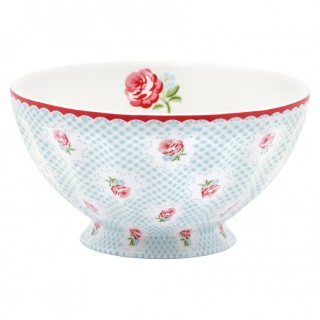 GreenGate French Bowl Tammie pale blue Xlarge