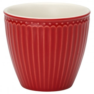 GreenGate Latte Cup Alice red