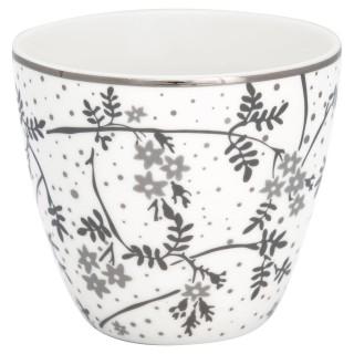 GreenGate Latte Cup Amira white