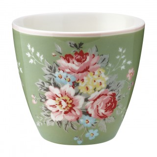 GreenGate Latte Cup Aurelia green