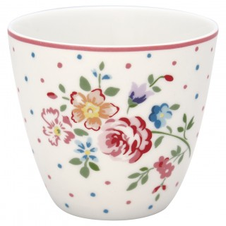 GreenGate Latte Cup Belle white