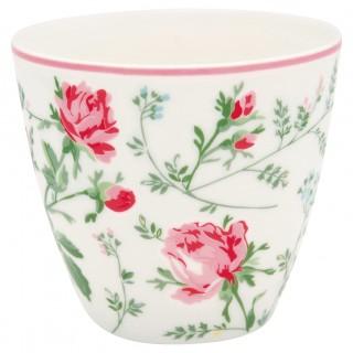 GreenGate Latte Cup Constanza white