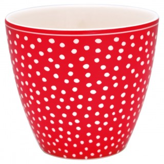 GreenGate Latte Cup Dot red