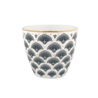 GreenGate Latte Cup Elvina grey