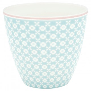 GreenGate Latte Cup Hailey pale blue