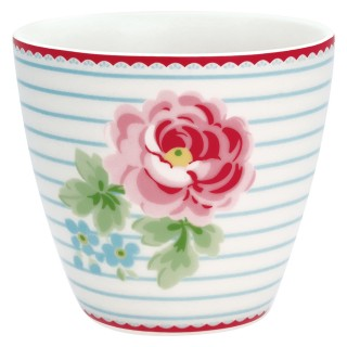 GreenGate Latte Cup Lily white