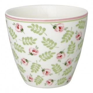 GreenGate Latte Cup Lily petit white