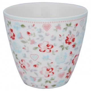 GreenGate Latte Cup Merla white
