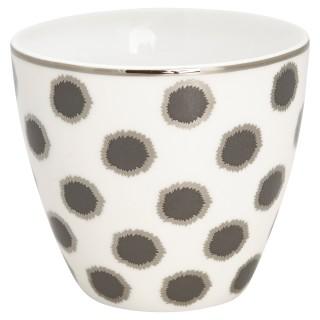 GreenGate Latte Cup Savi white