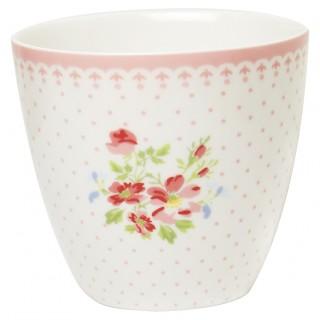 GreenGate Latte Cup Sinja white