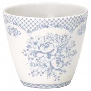 GreenGate Latte Cup Stephanie dusty blue