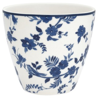 GreenGate Latte Cup Vanessa blue