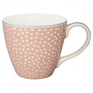 GreenGate Henkelbecher Dot peach