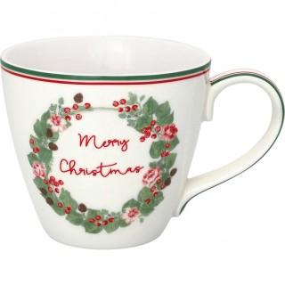 GreenGate Henkelbecher Merry Xmas