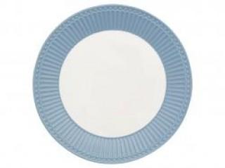 GreenGate Frühstücksteller Alice sky blue
