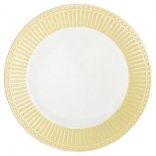 GreenGate Frühstücksteller Alice pale yellow